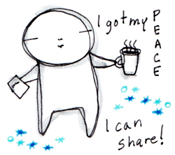 Got my Peace, I can share!