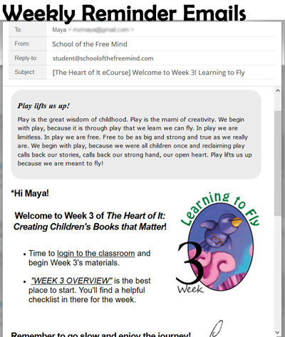 Heart of It Weekly Email