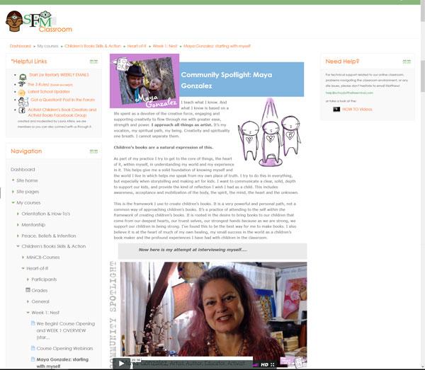 SFM Sample Online Content - Maya Gonzalez