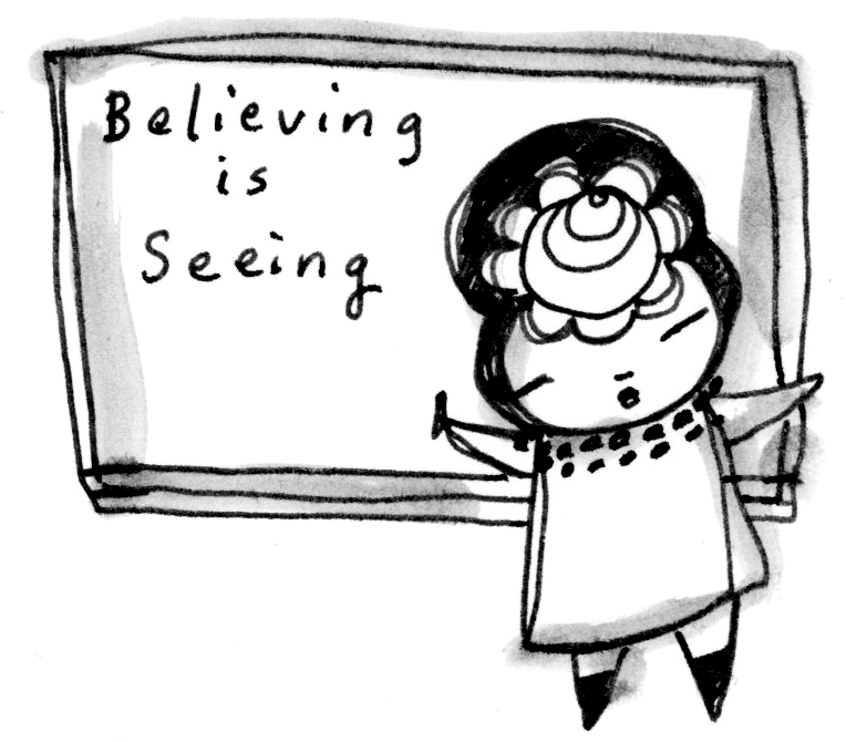 Believing is Seeing Classroom